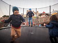 trampolins